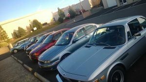 Independent Porsche, BMW and Mini repair and service, Reno, Sparks Nevada - Reno Rennsport Parking